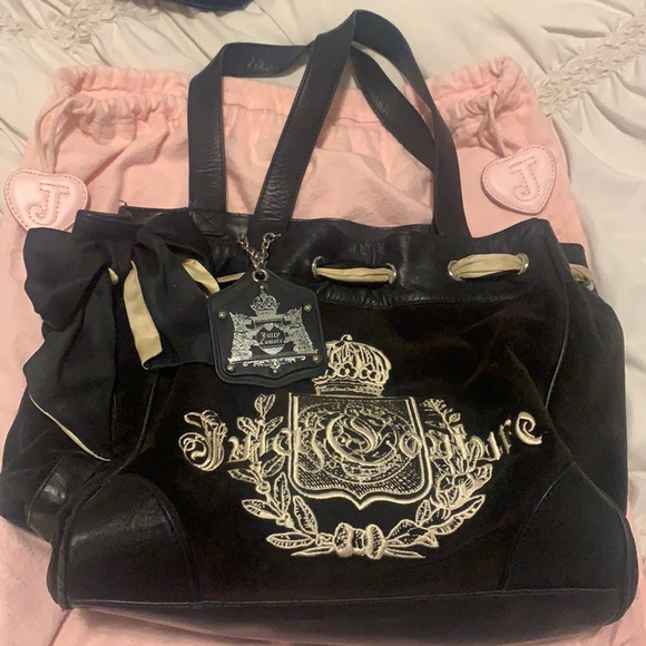 Juicy Couture Tote Bag with Dust Bag
